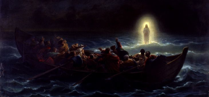 O uratowaniu Piotra, kiedy wstawał świt