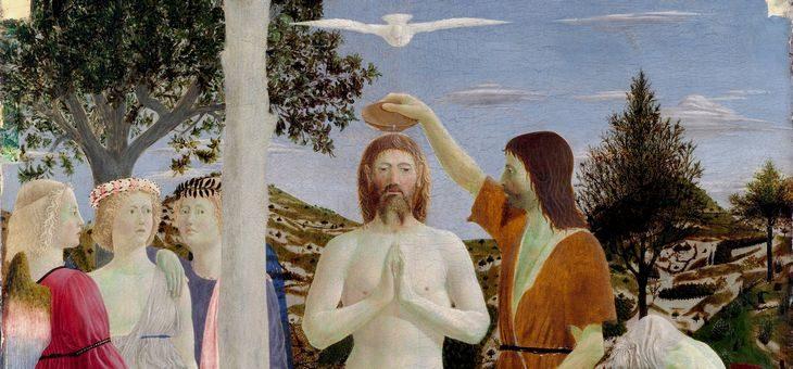 Chrzest Jezusa, czyli medytacja o tym, jak Jezus znalazł się między pokutnikami