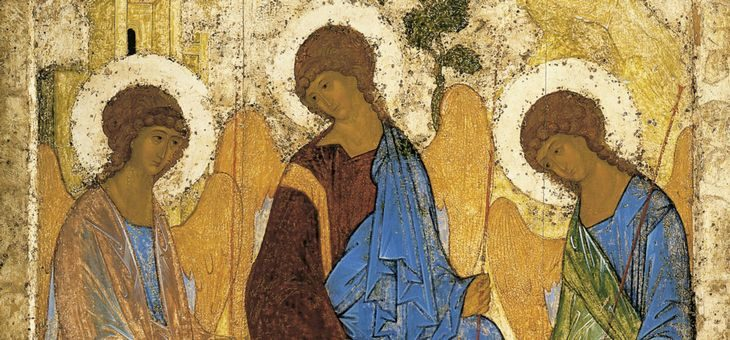 Wymalowana modlitwa ikona