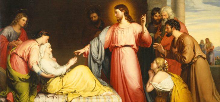 W domu Piotra, czyli uzdrowienie teściowej