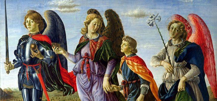Święci Archaniołowie: Gabriel, Rafał i Michał