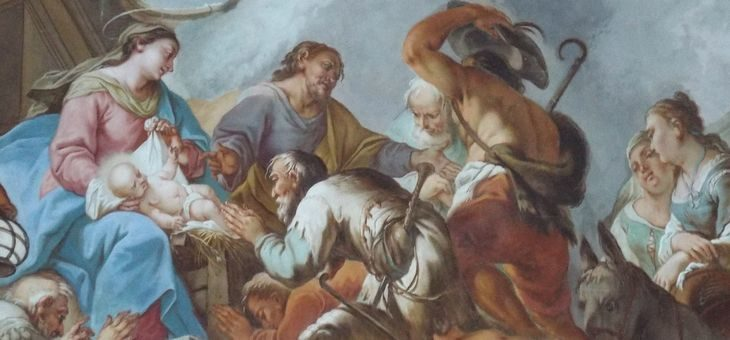 Boże Narodzenie, czyli opowieść o Zbawieniu, rozbrzmiewającym gwarem pasterzy
