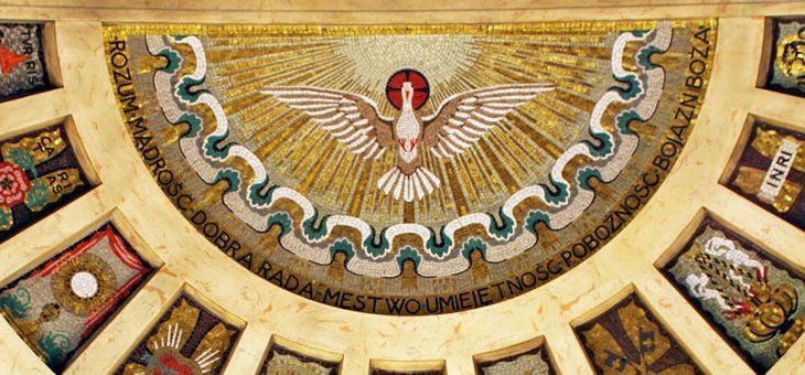Mozaika Ducha Świętego