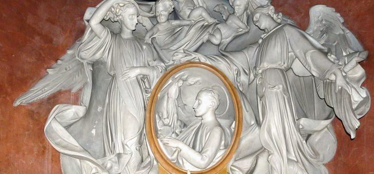 Kompozycja ołtarza św. Ignacego Loyoli – patrona rekolekcji