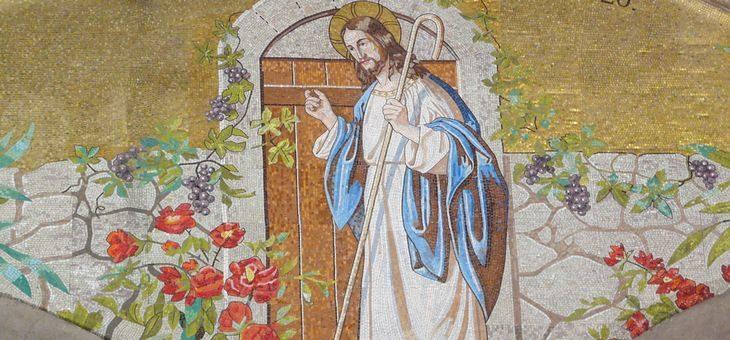 Jezus pukający do drzwi grzesznika
