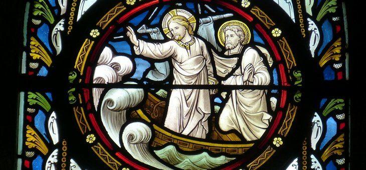 Burza na jeziorze, czyli o wierze porwanej przez wichurę