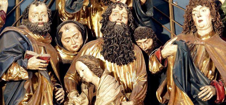 Ołtarz Mariacki (fragment) fot. Zygmunt Put