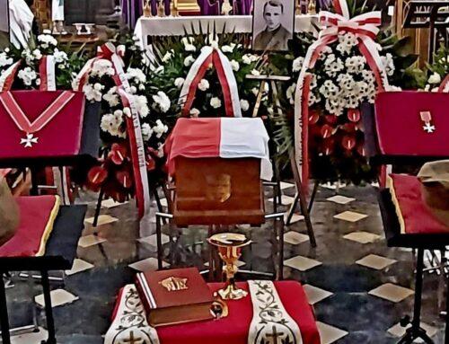 Uroczystości pogrzebowe bohaterów podziemia antykomunistycznego